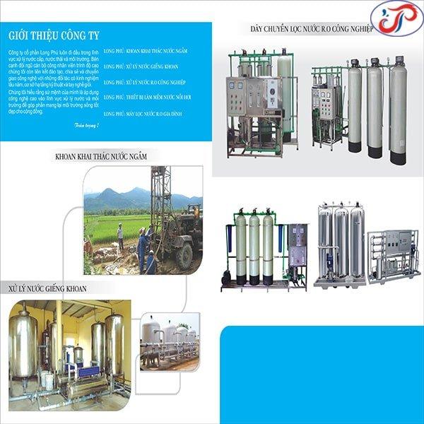 Giới thiệu về Hệ thống xử lý nước công nghiệp Long Phú | Dây chuyền lọc nước RO – DI – EDI