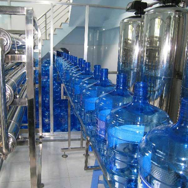 DÂY CHUYỀN SẢN XUẤT NƯỚC TINH KHIẾT ĐÓNG BÌNH 3000 lít/h | Công nghệ lọc nước RO