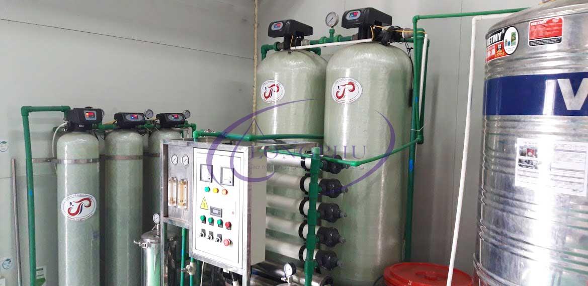 Hệ thống khử khoáng công suất 6000 lít/giờ trong sản xuất Nhôm