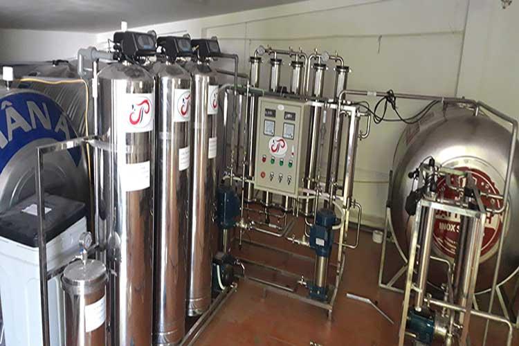 Hệ thống lọc nước tinh khiết R.O 2 cấp dùng trong dược phẩm