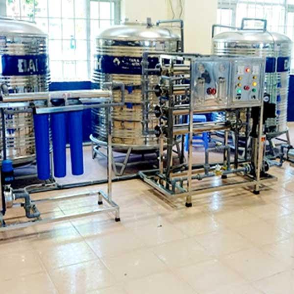 Dây chuyền xử lý nước tinh khiết trong ngành công nghiệp thực phẩm