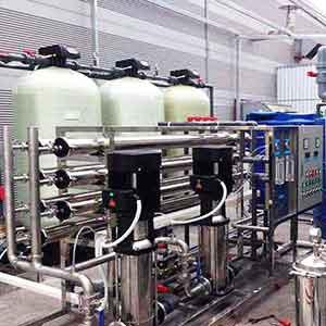 Hệ thống xử lý nước tinh khiết R.O DI | Xử lý nước cấp trong nhà máy sản xuất sơn
