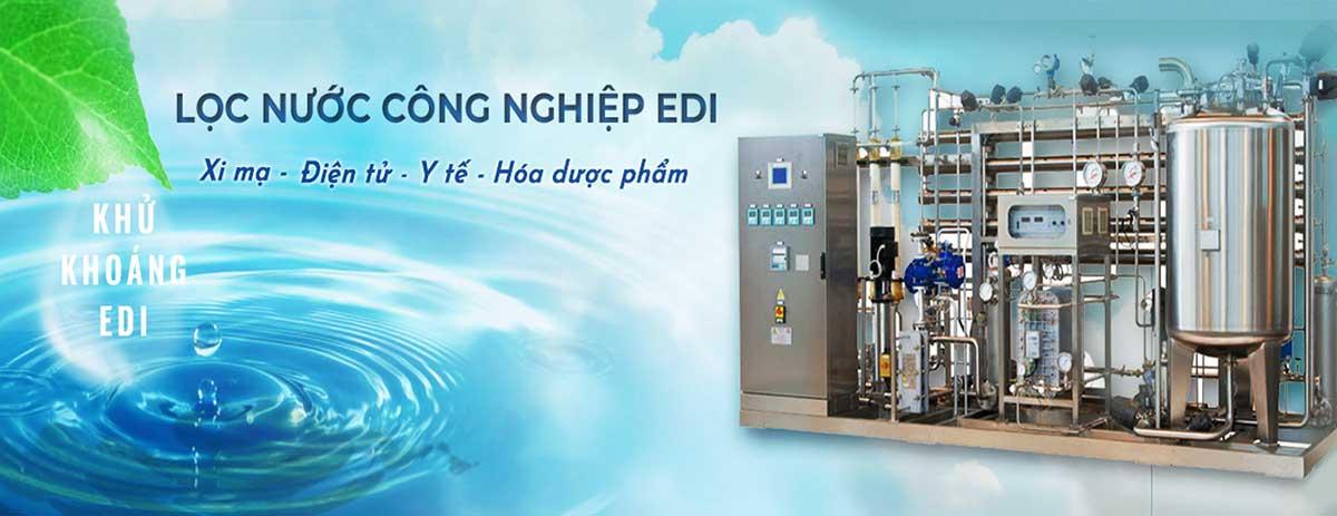 Hệ thống lọc nước siêu tinh khiết EDI