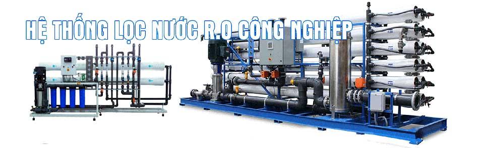 Hệ thống lọc nước tinh khiết RO công nghiệp