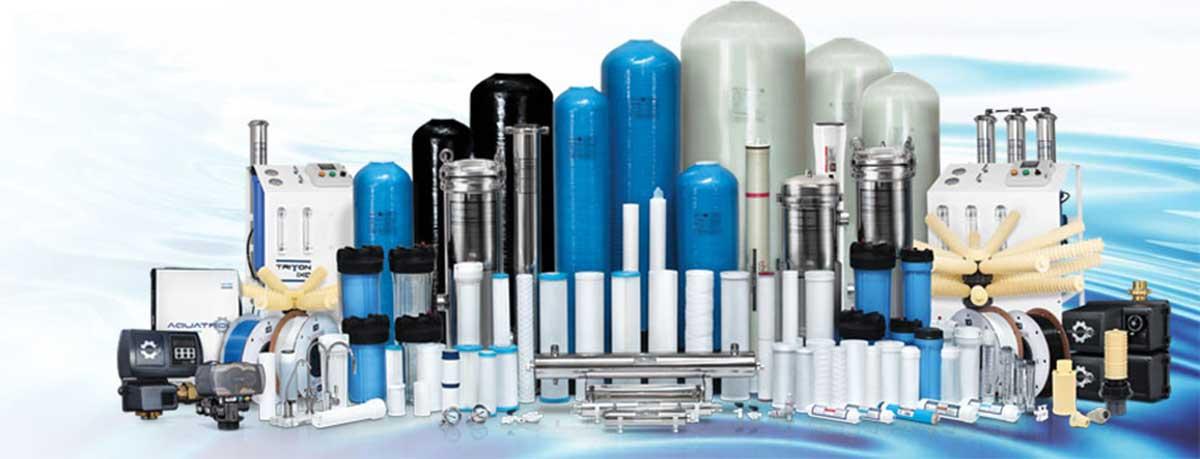 Vật tư, thiết bị hệ thống lọc nước R.O công nghiệp