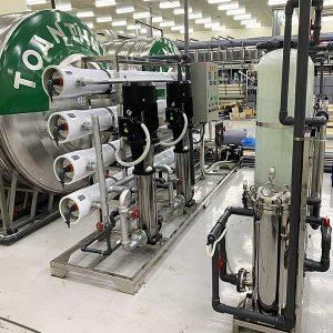 Hệ thống xử lý nước siêu tinh khiết EDI trong sản xuất Vắc xin