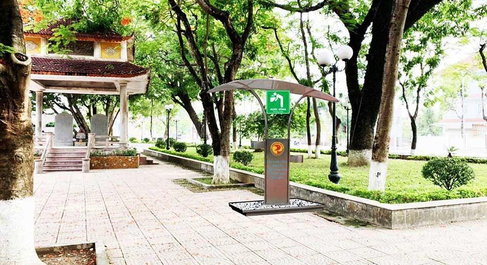 Dự án lắp đặt trụ nước uống công cộng tại TP Phủ Lý