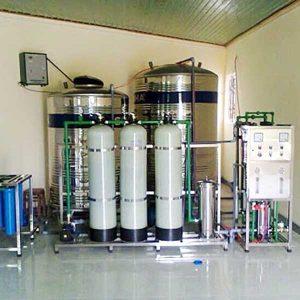 Hệ thống máy lọc nước tinh khiết RO công suất 1000l/h | Hệ thống xử lý nước RO công nghiệp