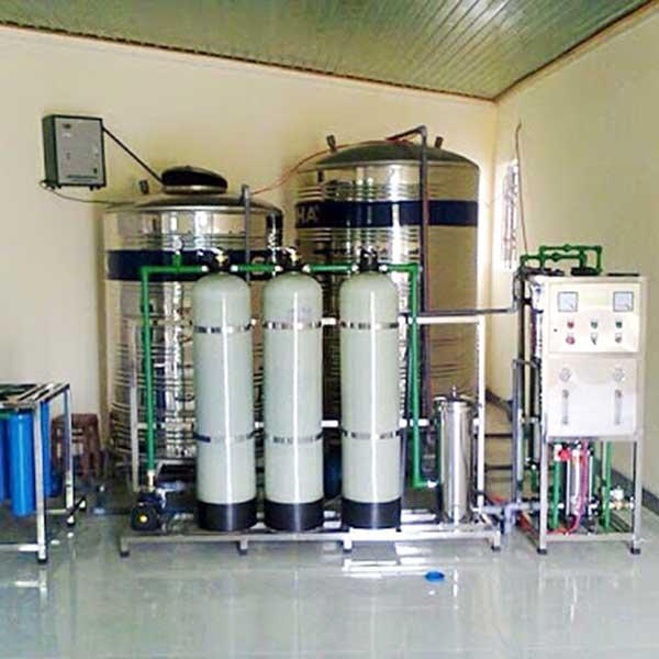 Hệ thống máy lọc nước tinh khiết RO công suất 1000l/h