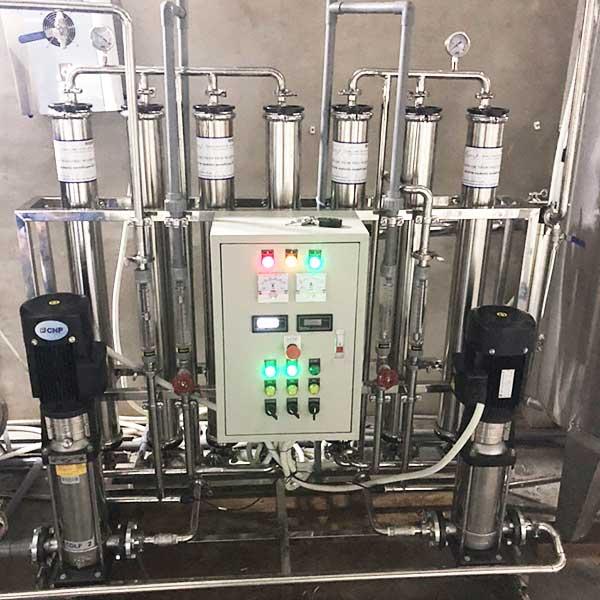 Hệ thống xử lý nước DI công suất 1000 lít/giờ
