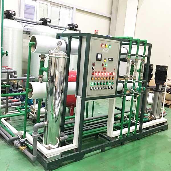Hệ thống xử lý nước DI công suất 1200 lít/giờ
