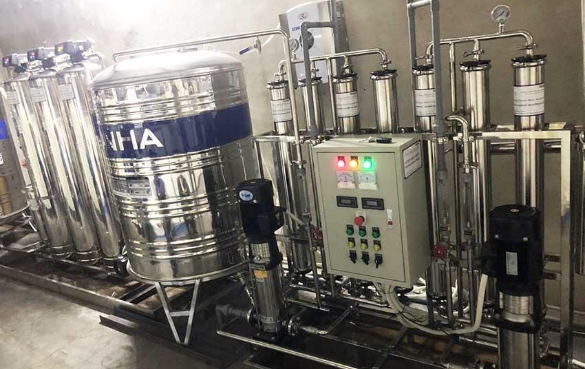 Hệ thống xử lý nước Di công suất 1500 lít/giờ