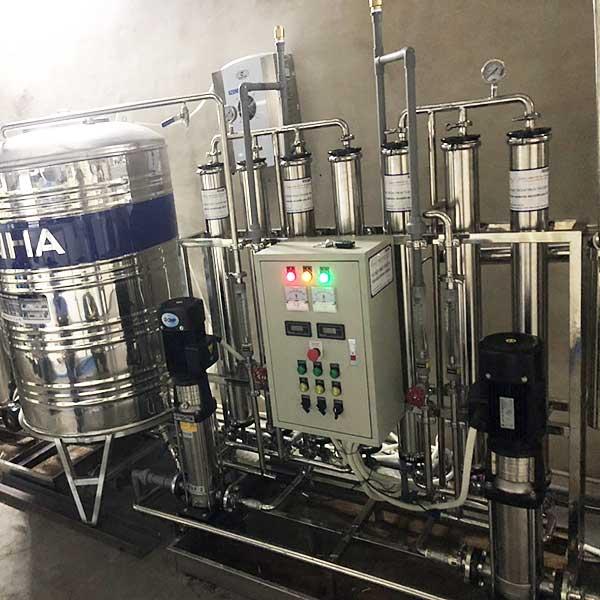 Hệ thống xử lý nước Di công suất 250 lít/giờ