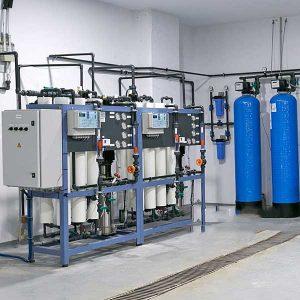 Hệ thống lọc nước DI công suất 500l/h | Kết hợp công nghệ khử khoáng R.O – DI