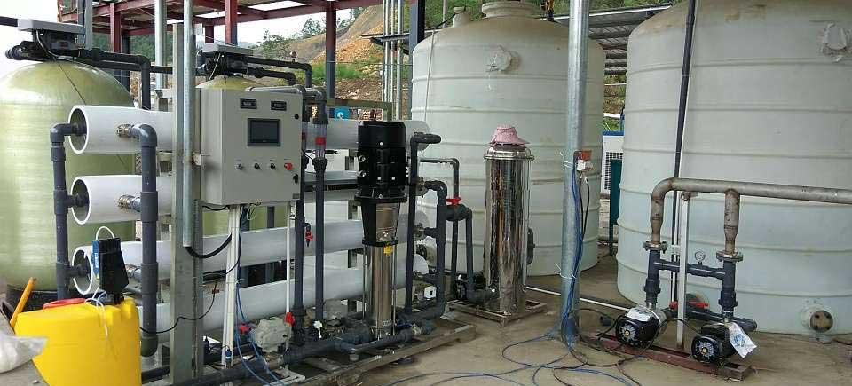 Hệ thống xử lý nước DI công suất 750 lít/giờ