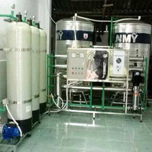 Hệ thống lọc nước RO công nghiệp 5000 L/h | Công nghệ xử lý nước RO