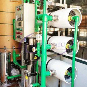 Hệ thống lọc nước RO công nghiệp 6000 L/h | Công nghệ xử lý nước RO
