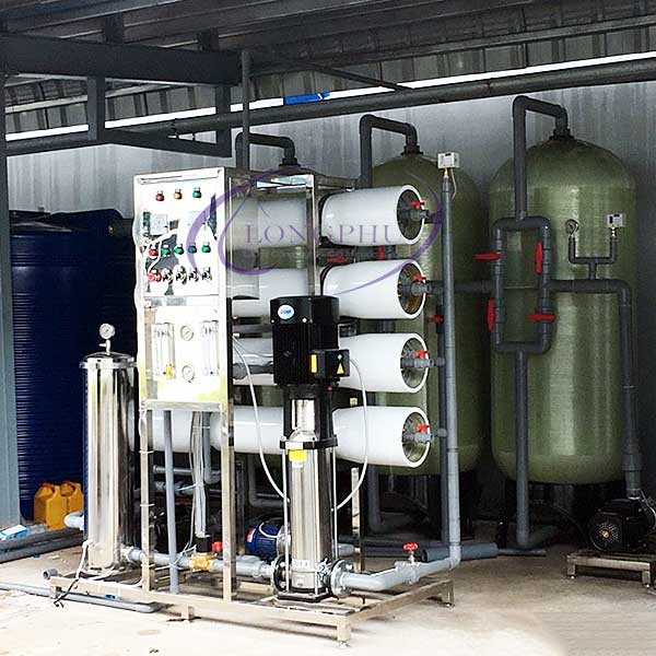 Hệ thống máy lọc nước tinh khiết RO công suất 2000l/h