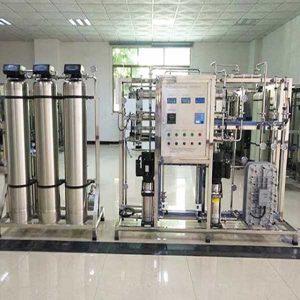 Hệ thống xử lý nước tinh khiết RO-EDI-MIXBED công suất 500l/h