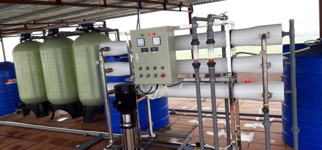 Hệ thống xử lý nước tinh khiết RO - DI Mixbed công suất 1500l/h