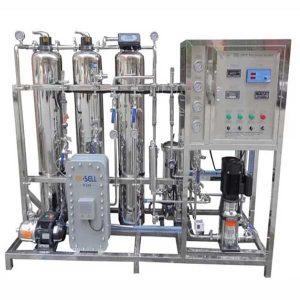 Hệ thống xử lý nước tinh khiết RO - EDI công suất 1000l/h