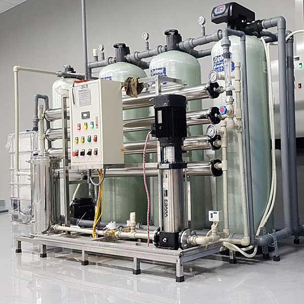 Hệ thống lọc nước tinh khiết RO công nghiệp công suất 1200l/h