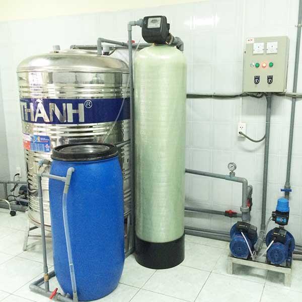 Hệ thống lọc nước sạch sinh hoạt 1 cột cho gia đình