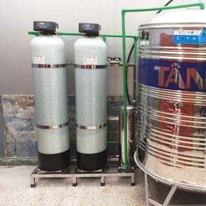 Hệ thống lọc nước sinh hoạt gia đình 2 cột 1000 lít/giờ