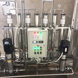 Hệ thống xử lý nước DI công suất 3000l/h | Kết hợp công nghệ khử khoáng R.O – DI