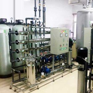 Hệ thống xử lý nước DI công suất 3500l/h | Kết hợp công nghệ khử khoáng R.O – DI