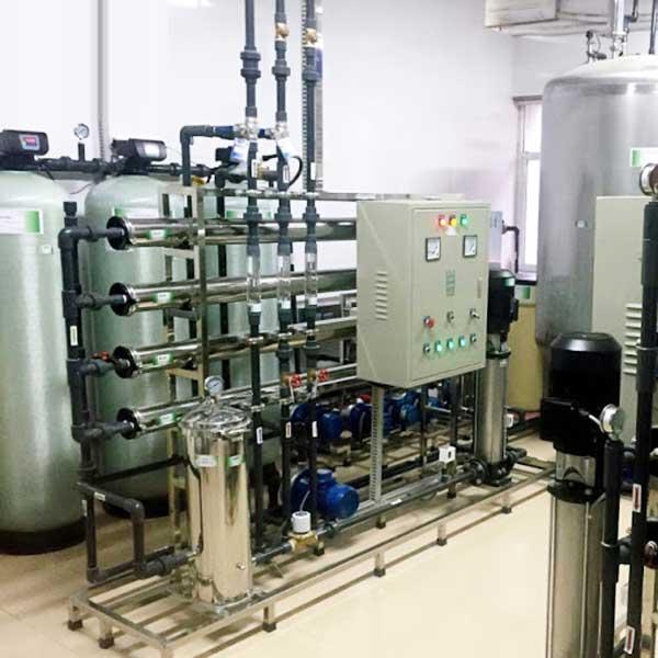 Hệ thống xử lý nước DI công suất 3500 lít/giờ