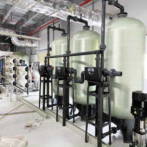 Hệ thống xử lý nước DI công suất 4000l/h | Kết hợp công nghệ khử khoáng R.O – DI