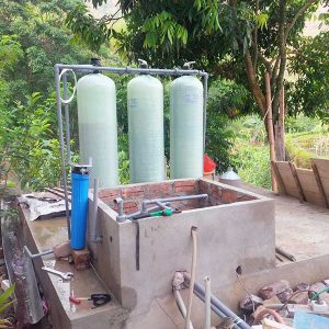 Hệ thống xử lý nước sông thành nước sinh hoạt