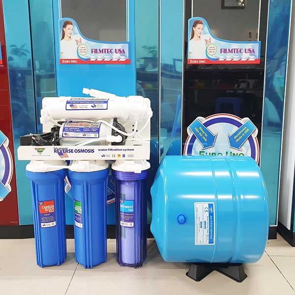 Máy lọc nước tinh khiết RO 3 vòi Nóng - Lạnh - Nguội 30l/h cho gia đình