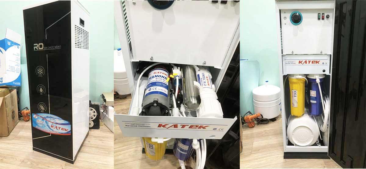 Máy lọc nước tinh khiết RO 3 vòi Nóng - Lạnh - Nguội 50l/h cho gia đình