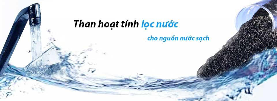 Công dụng của than hoạt tính trong công nghệ lọc nước sạch