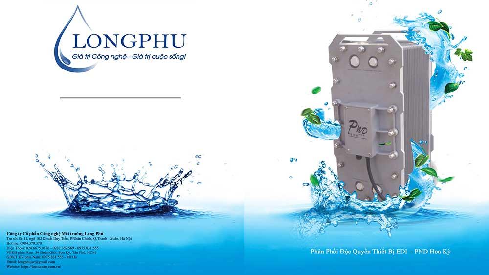 Giới thiệu về dòng thiết bị lọc nước EDI hãng PND sản xuất