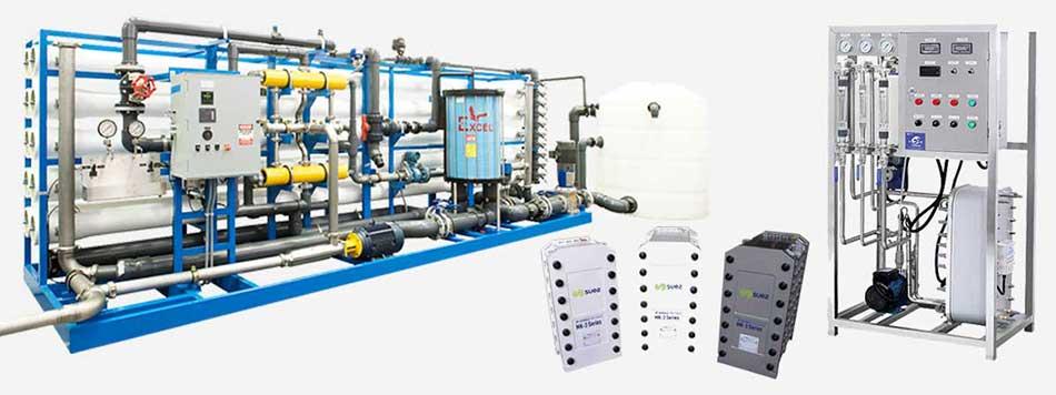 Hệ thống xử lý nước siêu tinh khiết sử dụng thiết bị EDI