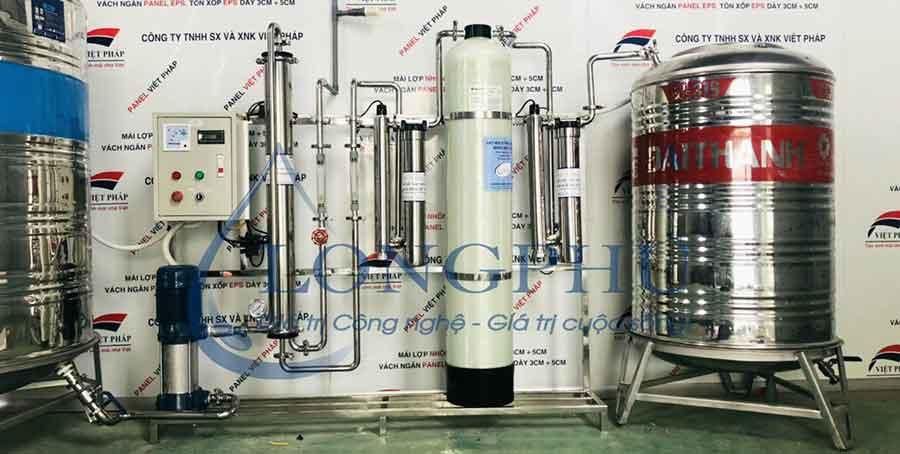 Báo giá hệ thống lọc nước tinh khiết R.O công nghiệp