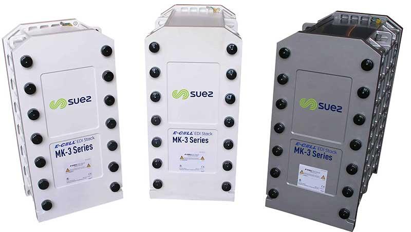 Module EDI xử lý nước siêu tinh khiết do hãng Suez sản xuất