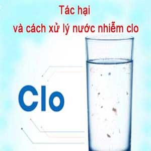 Tác hại của Clo trong nước đến sức khỏe con người